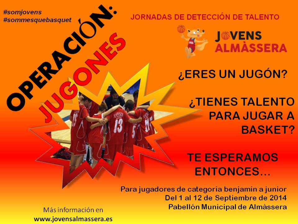 CARTEL JUGONES 2